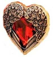 Angel Heart Women Ring Jewelry