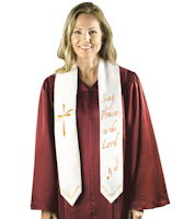 Sing Praise to the Lord Choir Stoles (Pkg of 6)