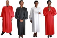 Baptismal Robes with Velcro Sleeves