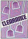 Clearance Sign for Stores