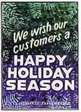 Happy Holiday Season Sign