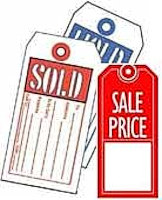 Sold, Hold, Sale Store Tags