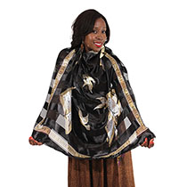 I Love Jesus Choir Music Scarf