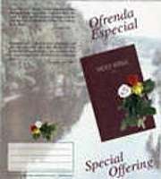 spanish special offering bible coin folder