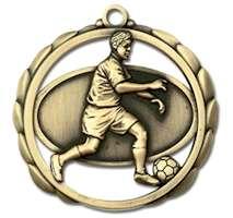 Soccer Award Male Medal