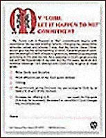 Lord Let It Happen Commitment Card