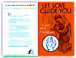 Let Love Guide You Bulletin