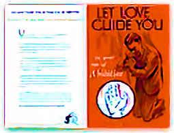 Let Love Guide You Bulletin