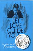 Let Love Guide You Resources Insert (Pkg of 50)