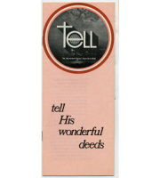 Tell His Wonderful Deeds Booklet   (25)