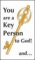You are a Key Person to God Leaflet (Pkg of 50)
