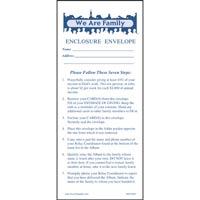 We Are Family Church Enclosure Envelopes (Pkg of 50)