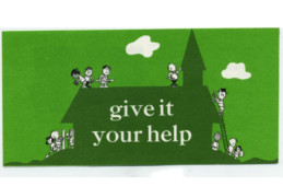 Give It Your Help Leaflet (Pkg of 50)