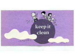 Keep It Clean Church Leaflet  (Pkg of 50)