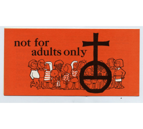 Not For Adults Only - Church Stewardship Brochure (Pkg of 50)