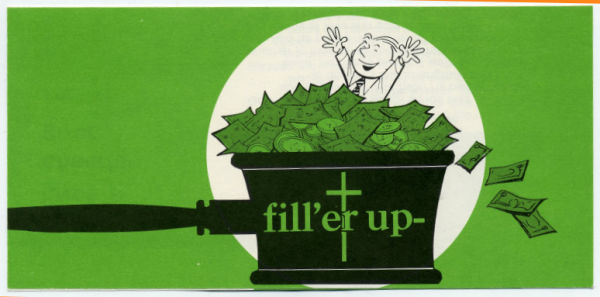 Fill'er Up Church Stewardship Brochure (Pkg of 50)