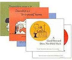 Year-Round Cartoon Stewardship  Posters Set