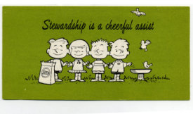 Stewardship Is A Cheerful Assist Leaflet (Pkg of 50)