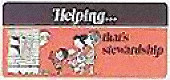 Helping-That's Stewardship Church Leaflet (Pkg of 50)