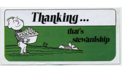 Thanking That's Stewardship Tract  (Pkg of 50)