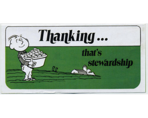 Thanking God That's Stewardship Tract  (Pkg of 50)