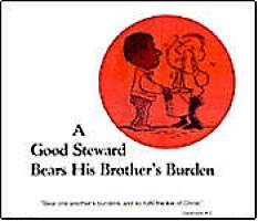 A Good Steward Bears His Brother's...Poster