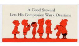 A Good Steward Works Overtime Leaflet (Pkg of 50)