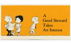 A Good Steward Takes An Interest Leaflet (Pkg of 50)