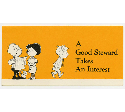 A Good Steward Takes An Interest Leaflet (Pkg of 50)