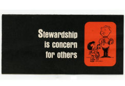 Stewardship Is Concern For Others (Pkg of 50)