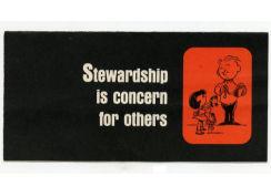 Stewardship Is Concern For Others Leaflet (Pkg of 50)