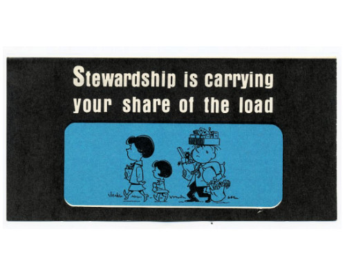 Stewardship Is Carrying Your Share (Pkg of 50)