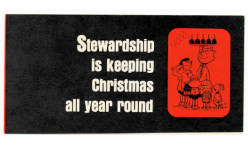 Stewardship Is Christmas All Year (Pkg of 50)