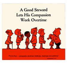 A Good Steward Stewardship poster