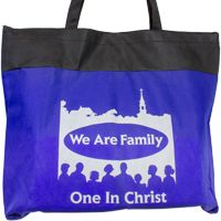 We Are Family  Cloth Tote