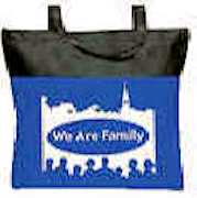 We Are Family Binder Tote