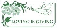 Loving is Giving Church Leaflet (Pkg of 100)