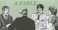 Fable of Waitress Church Leaflet (Pkg of 100)