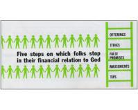 Five Steps Stewardship Leaflets (Pkg of 100)