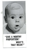 Give A Worthy Proportion Church Leaflet (Pkg of 100)