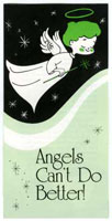 Angels Can't Do Better Tract (Pkg of 50)