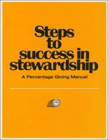 Steps to Success in Stewardship Church Manuals