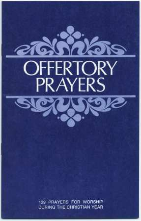 Offertory Prayers Booklet Christian