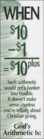 When $10-$1= $10 - Tithing Leaflet (Pkg of 100)