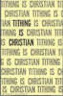 Tithing Is Christian Bulletin (Pkg of 50)