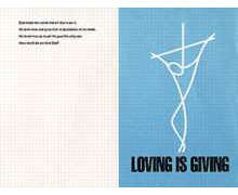Loving Is Giving Bulletin