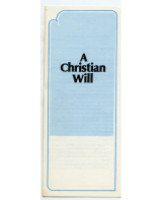 A Christian Will Leaflets  (25)