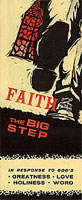 Faith The Big Step Flip Chart Booklet