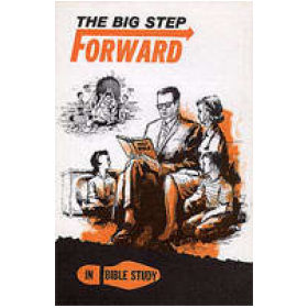 Big Step Forward In Bible Study Bulletin Insert