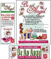 TSA Christmas Angel Tree Signage (Set of 30)